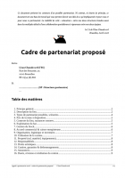 Eau Chaude scrl 2018 - Appel partenariat P3 - Cadre